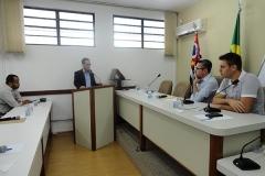 Cerimônia de Posse de Suplente dos Vereadores Alcídio Mariano Martins e Cesar Romero Pontes Britto (06 de janeiro de 2017)