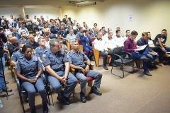 Homenagem de reconhecimento aos policiais e servidores do CSI (30 de abril de 2019)