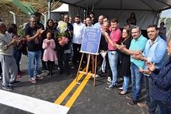 """Inauguração da Área de Lazer \""""Anderson Luiz Magela\"""" e a Quadra Poliesportiva \""""Geraldo Magela\"""" (01 de junho de 2019)"""