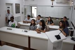 Visita dos alunos do Colégio Integrado Guararema (18 de novembro de 2019)