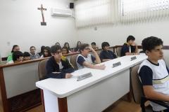 Visita dos alunos do Colégio São Francisco à Câmara Municipal (03 e 04 de setembro de 2014)
