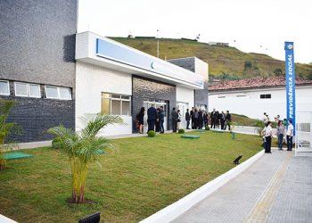 Vereadores participam da inauguração da Agência do INSS, em Guararema