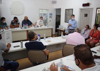 Câmara recebe representantes da EDP e cobra providências e investimentos em Guararema