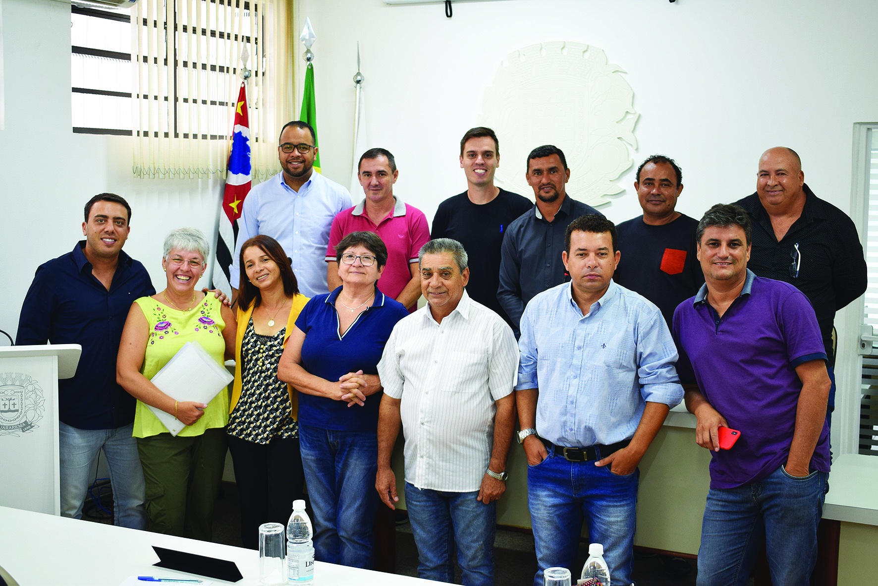 Ampara e Vereadores reúnem-se para conversarem sobre a  proibição da utilização de fogos com estampido no município