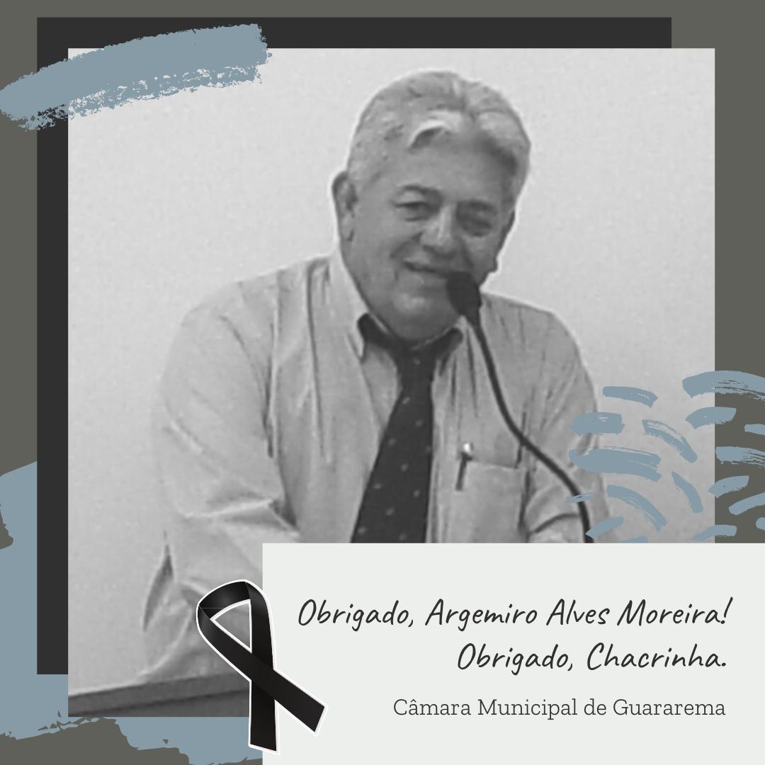 You are currently viewing Câmara Municipal de Guararema se despede de Chacrinha